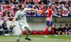 ادارة اتلتيكو مدريد ستحسم مصير اوبلاك مع نهاية الموسم