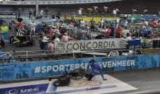مشهد مروّع في بطولة اوروبا للدراجات الهوائية