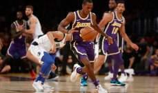 NBA: فوز ليكرز على بليزرز وروكتس على شيكاغو بولز