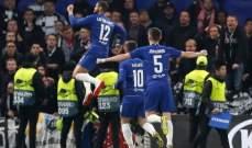 الدوري الاوروبي : تشيلسي يضرب موعدا مع ارسنال في النهائي بعد تخطيه فرانكفورت