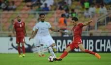 البطولة العربية : الاهلي السعودي يتاهل وتعادل للوداد المغربي