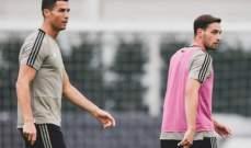 دي تشيليو: رونالدو لاعب محترف ولا يهتم بالجوائز الفردية