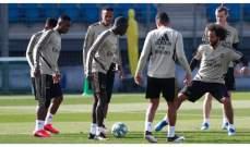 ريال مدريد كامل العدد قبل موقعة برشلونة
