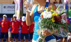 بطولة مايوركا: ماريا تسقط سيفاتسوفا وتفوز بأول لقب في مسيرتها