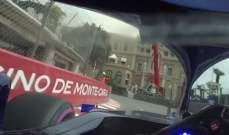 إذهبوا في لفة حول حلبة موناكو من داخل خوذة بيار غازلي