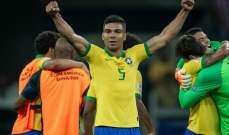 كاسيميرو سعيد بالفوز على الارجنتين ويؤكد استعداد البرازيل للنهائي