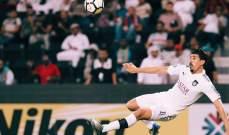 هدف بو نجاح ضمن أجمل خمسة أهداف أكروباتية بتاريخ دوري ابطال آسيا