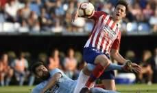 كالينيتش يتعرض للإصابة مع أتلتيكو مدريد