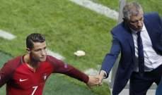 مدرب البرتغال : كونوا عادلين وامنحوا الكرة الذهبية لمن يستحقها