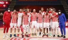 اصابات كورونا جديدة في فريق النجم الأحمر الصربي