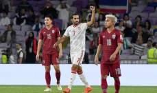 علي مبخوت: لست راضيًا عن ظهور الامارات في الدور الاول لكأس آسيا