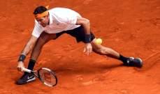 لاسلو دغيري يعبر الى الدور الثالث في بطولة مدريد بفوزه على ديل بوترو