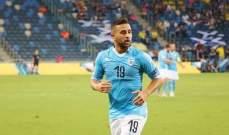 ضياء سبع أول لاعب عربي- إسرائيلي في الدوري الاماراتي