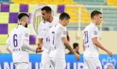كأس الخليج العربي الاماراتي: العين يتخطى الظفرة وحتا يهزم الشارقة