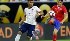 سقوط كولومبيا امام كوستاريكا لم يمنعها من التاهل الى الدور الثاني