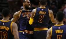 NBA: كليفلاند يسحق هيت بفارق 26 نقطة ويحقق فوزه الـ17 على ارضه