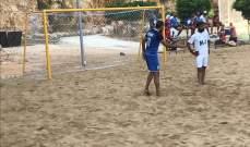 كرة قدم شاطئية: الريجي يعود من بعيد ليتخطى البلوز