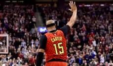 فينس كارتر يودع اللعبة: انتهيت رسمياً مع كرة السلة الاحترافية