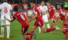 دوري الامم الأوروبية خسارة مفاجئة لأرمينيا وفوز ثالث لجورجيا