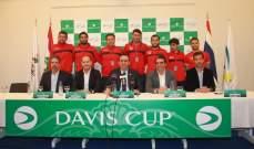 فيصل:معنويات اللاعبين اللبنانيين مرتفعة لكاس دايفيس