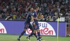 اختيار دي ماريا رجل مباراة كأس السوبر الفرنسي