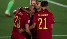 أهم إحصاءات مباراة إسبانيا - اوكرانيا