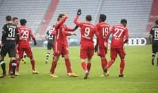 ترتيب الدوري الالماني بعد انتهاء مباريات يوم الاحد