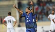 البطولة العربية : الاهلي المصري يتخطى النجمة برباعية ويتأهل للدور المقبل