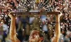 بطولة ريو دي جانيرو: اللقب لشفارتزمان