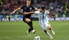 إيفان بيريسيتش  ينتقد المنتخب الارجنتيني ويعترف بقوة ميسي