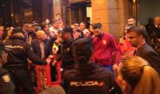 كاراسكو يخرج من الكالديرون بسيارة اسعاف