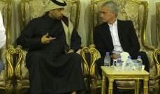 مورينيو يقدم واجب العزاء إلى ناصر الخليفي في الدوحة