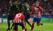 غريزمان : نجحنا في تحقيق هدفنا امام موناكو