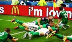 هدفي مباراة ايرلندا الشمالية واوكرانيا