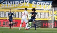 الدوري التركي: فنربخشة يعزز صدارته بالفوز على هاتاي سبور