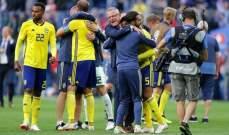 مدرب السويد : لن نكتف بما حققناه حتى الان