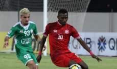 كأس الاتحاد الاسيوي:فوز مستحق للانصار على الظفار العماني وكيريس نيغروس يكتسح بيونغ كيت