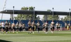 تدريبات ريال مدريد تشهد عودة يوفيتش