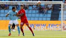 الليغا : سيلتا فيغو ينجو من الهزيمة امام اسبانيول ويجرّه للتعادل