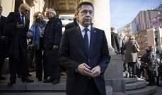رئيس برشلونة: لم يخطر ببالي أبداً أن أستقيل بسبب قضية ميسي
