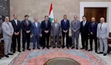 الهيئة الادارية الجديدة  للراسينغ في القصر الجمهوري