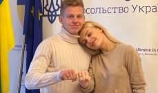 في يوم زفافهما زينتشينكو يرد على تصريحات زوجته