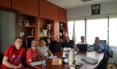"""سلة: اجتماع إيجابي بين المحامي رزق وكوكولاكيديس ومدربي فرق """"الفاينال 4"""""""