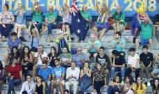 بطولة العالم للكرة الطائرة : خسارة فرنسا امام البرازيل وفوز اميركا وايران