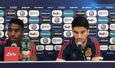 سولير: على اسبانيا اللعب بذكاء امام بولندا