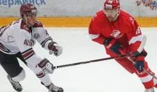 دوري الهوكي الروسي : دينامو ريغا يسقط سبارتاك موسكو