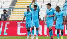 الدوري الاماراتي: تعادل النصر مع الوحدة وبني ياس يفوز على الظفرة