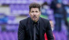 سيميوني يجدد عقده مع اتلتيكو مدريد