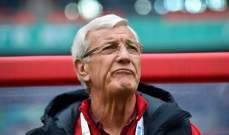 ليبي سيستقيل اذا لم يؤهل الصين الى مونديال 2022