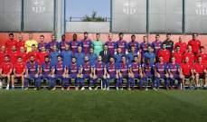 من هم لاعبو برشلونة الذين احتفلوا بلقب الدوري الاسباني للمرة الاولى